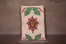 Small moroccan rug 2.9 FT X 5 FT