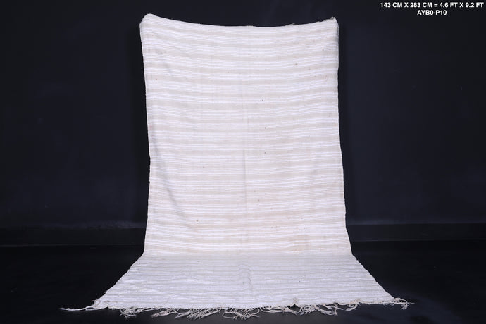 Wedding berber blanket, 4.9 ft x 9.2 ft