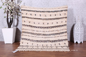 Berber wedding blanket, 4.2 ft x 5.3 ft