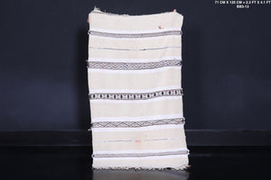 Berber Wedding blanket,  2.3 FT X 4.1 FT