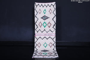 Berber runner rug 1.9 FT X 2.9 FT
