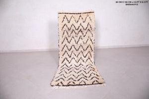 Moroccan rug,  2.6 FT X 6.3 FT