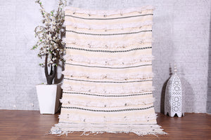 Berber wedding blanket, 4.2 FT X 6.8 FT