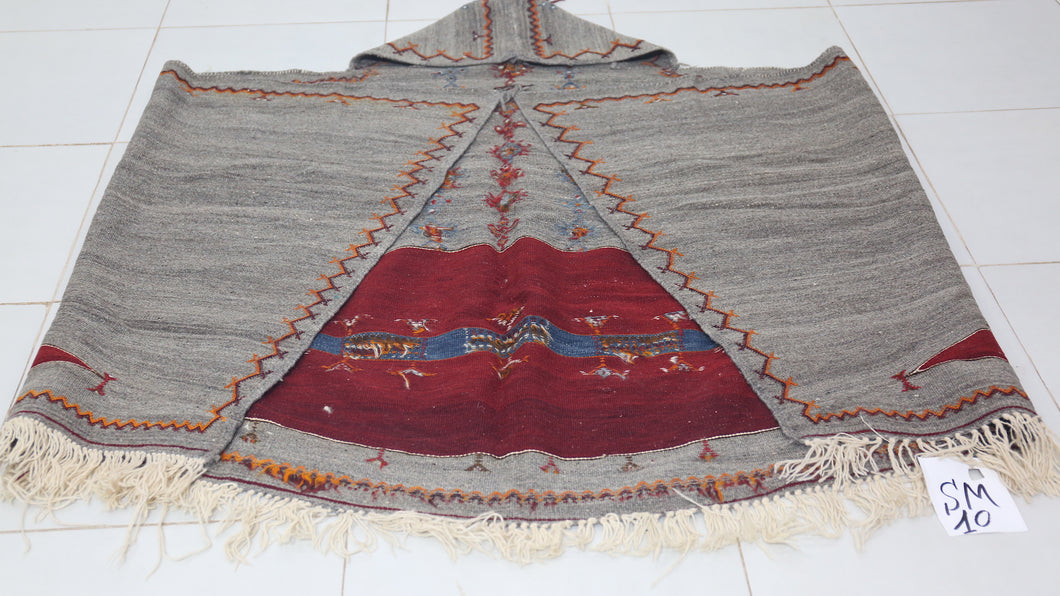 Vintage berber cape, Old Costume