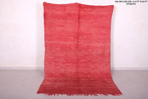 moroccan red rug 5.4 FT X 8.6 FT