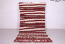 Hand woven Moroccan rug 5.6 FT X 11.2 FT