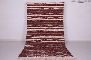 Long Moroccan wedding  rug, 5.4 FT X 10 FT