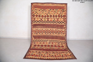 Old Morocco Straw Rug (5.3ft x 9.3ft)