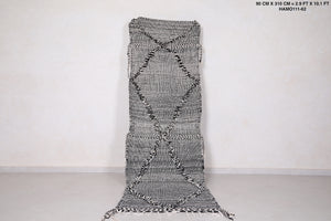 Grey runner rug 2.9 FT X 10.1 FT