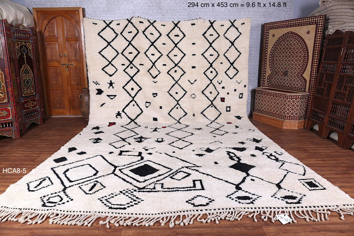 Large berber soft wool rug