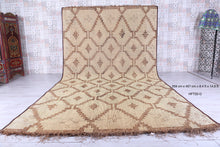Tuareg Mat Reed Leather Rug (8.4 ft x 14.9 ft)