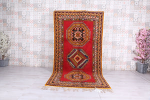 Moroccan Rug, 4.6ft x 8.8ft