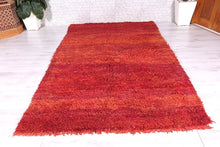 Moroccan rug 6.1 ft x 10 ft