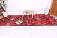 Bohemian rug, 6.4ft x 13.7ft - Old Azilal rug