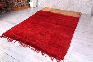 Moroccan rug,  6.3 ft x 8.8 ft