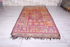Azilal rugs, Vintage rug, Moroccan rug, 5.9ft x 11.8ft