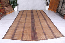Large & Beautiful Authentic Tuareg Mat  (7.7ft x 12.3ft)