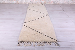 Runner Moroccan rug 2.9 FT X 10.4 FT