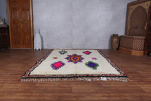 Moroccan rug, 6ft x 8.6ft