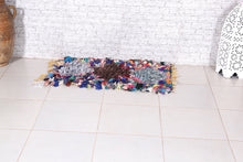 Rag rug, Door mat,  1.8 ft x 3.3 ft