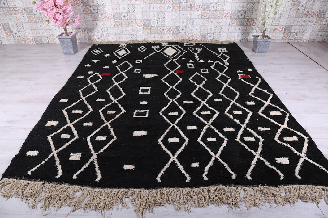 Moroccan rug 8.6 ft x 10.4 ft