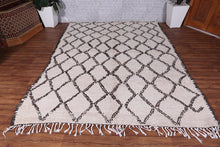 Moroccan Rug 6.7 ft x 8.8 ft