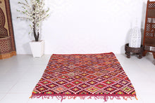 Wonderful berber rug 5.9 ft x 7.3 ft