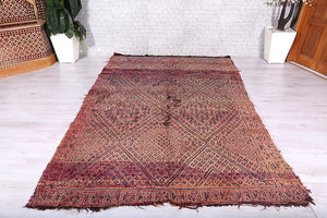 Moroccan rug 5.9 ft x 9.7 ft