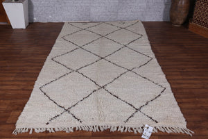 Beni ourain rug, 4.9ft x 8.8ft