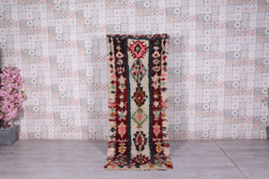 Moroccan rug runner 2.9 FT X 7.7 FT
