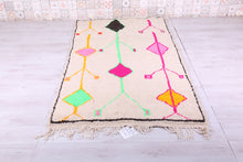 Azilal Moroccan rug 4.3 FT X 7.6 FT