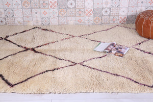 Beni ourain rug 5.3 FT X 10.4 FT