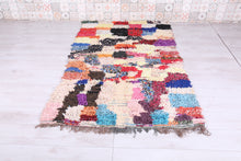 Colorful Moroccan rug 4.3 FT X 7 FT