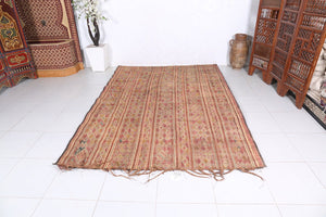 Reed African Tuareg Rug (6.2ft x 9ft)