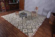 Moroccan rug,  9.7 ft x 10.1 ft