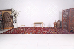 Long Moroccan rug 6.2 ft x 15.9 ft