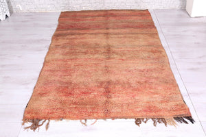 Moroccan rug, 4.3 ft x 6.9 ft