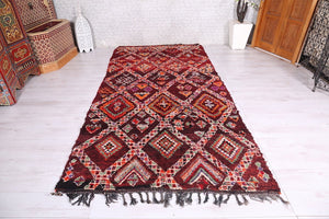 Moroccan rug, 5.4 ft x 10.8 ft