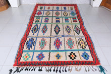 moroccan rug 4.8 ft x 8.8 ft