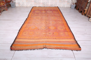 Long moroccan rug 5.7 FT X 11.6 FT