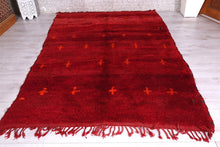 Moroccan rug,  6.1 ft x 8.3 ft