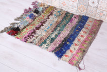 Vintage Handmade Door mat 2.4 ft x 3 ft