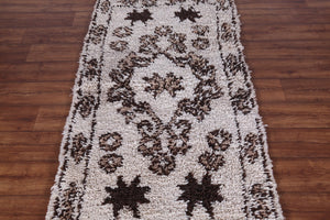 Moroccan rug,  2.8 ft x 5.8 ft