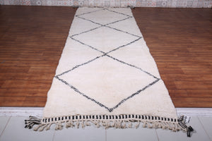 Runner Moroccan rug 4.1 FT X 13.6 FT