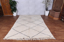 Beni ourain rug 6.5 FT X 9.5 FT