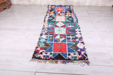 Moroccan azilal rug, 3.4 FT X 9.8 FT