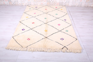 Moroccan berber Azilal rug 5.1 ft x 7.3 ft