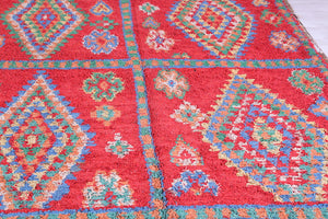 Moroccan Rug 5.8 ft x 9.4 ft