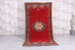Moroccan Rug, 4.6 ft x 8.1 ft