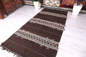 Moroccan rug,  4.8 ft x 9.7 ft